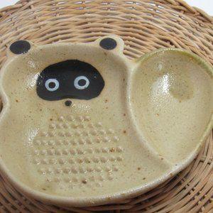 Small Ceramic GRATER Wasabi wasabi grater Tanuki J